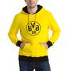 Görüntü Puma BVB Armalı Kapüşonlu Erkek Sweatshirt #2