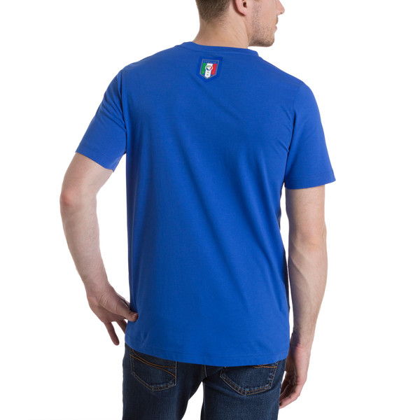 Italia 2006-2016 TRIBUTE Graphic T-Shirt, Team Power Blue, large