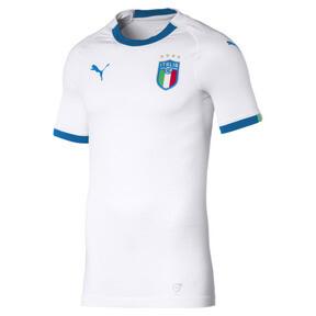 Thumbnail 1 of Italia Men's Away Promo Football Jersey, Puma White-Team Power Blue, medium