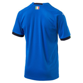 Thumbnail 5 of Italia Home Replica Jersey, Team Power Blue-Peacoat, medium