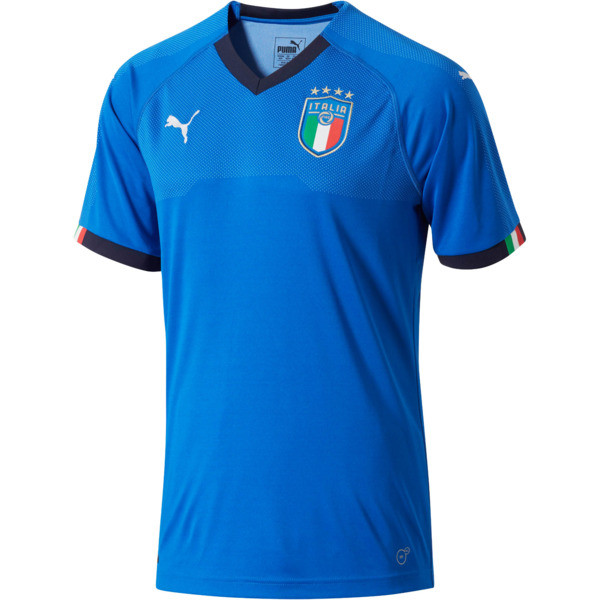 Italia Home Replica Jersey, Team Power Blue-Peacoat, large