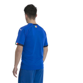 Thumbnail 2 of FIGC ITALIA HOME SHIRT REPLICA, Team Power Blue-Peacoat, medium-JPN