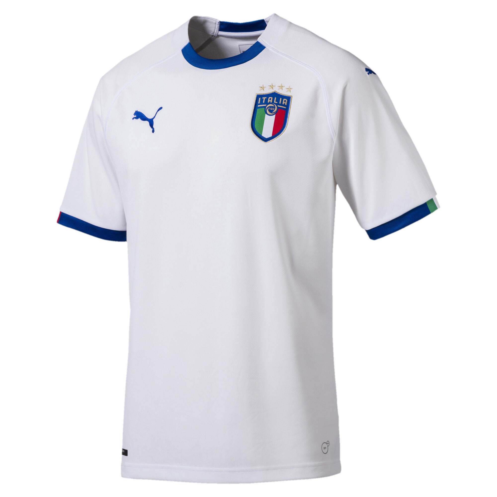 プーマ FIGC ITALIA アウェイ レプリカ SSシャツ 半袖 メンズ Puma White-Team Power Blue |PUMA.com
