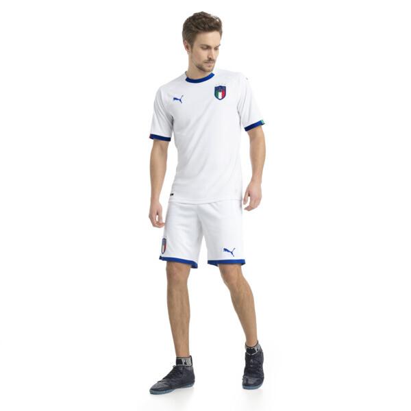 FIGC ITALIA アウェイ レプリカ SSシャツ, Puma White-Team Power Blue, large-JPN