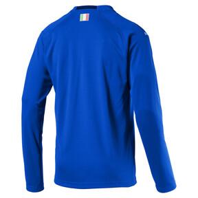 Thumbnail 1 of Italia Long Sleeve Home Replica Jersey, Team Power Blue-Peacoat, medium