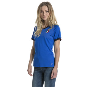 Imagen en miniatura 1 de Camiseta local de mujer Italia Replica, Team Power Blue-Peacoat, mediana