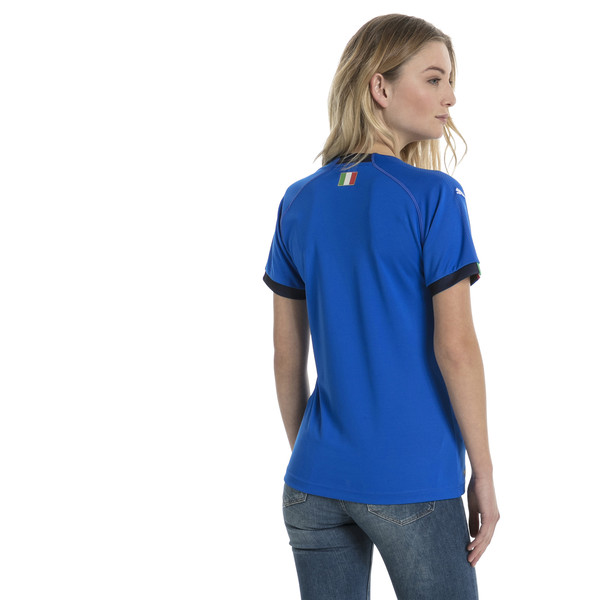 Camiseta local de mujer Italia Replica, Team Power Blue-Peacoat, grande