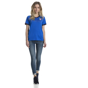 Imagen en miniatura 3 de Camiseta local de mujer Italia Replica, Team Power Blue-Peacoat, mediana