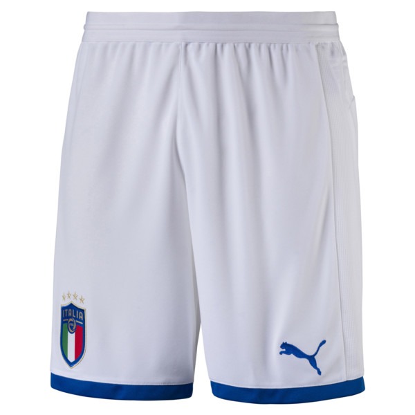 Italia Replica Shorts, Puma White, large
