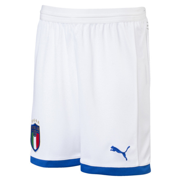 Italia Kids' Shorts, Puma White-AWAY, large