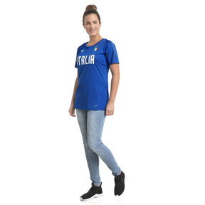 Thumbnail 5 of Italia Women's Training Jersey, Team Power Blue-Puma WHite, medium