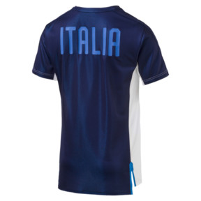 Thumbnail 2 of FIGC ITALIA スタジアムジャージー SS, Puma White-Team power blue, medium-JPN