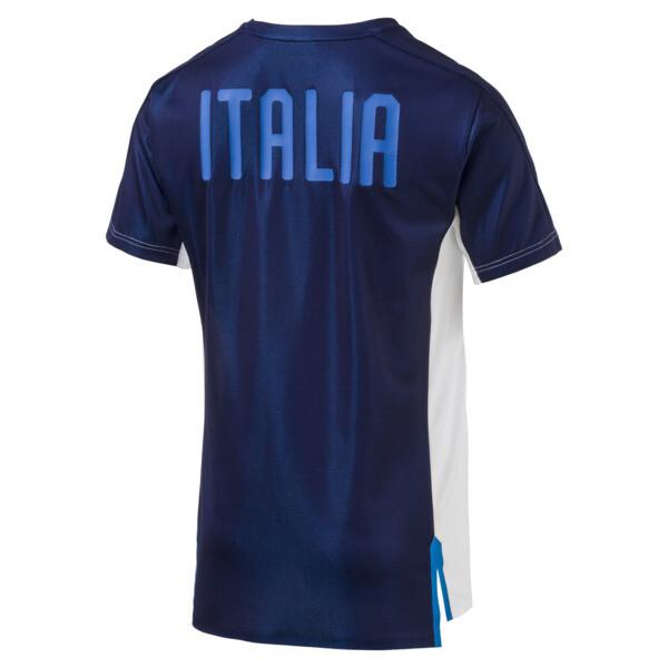 FIGC ITALIA スタジアムジャージー SS, Puma White-Team power blue, large-JPN