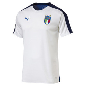 Thumbnail 1 of Italia Stadium Jersey, Puma White-Team power blue, medium