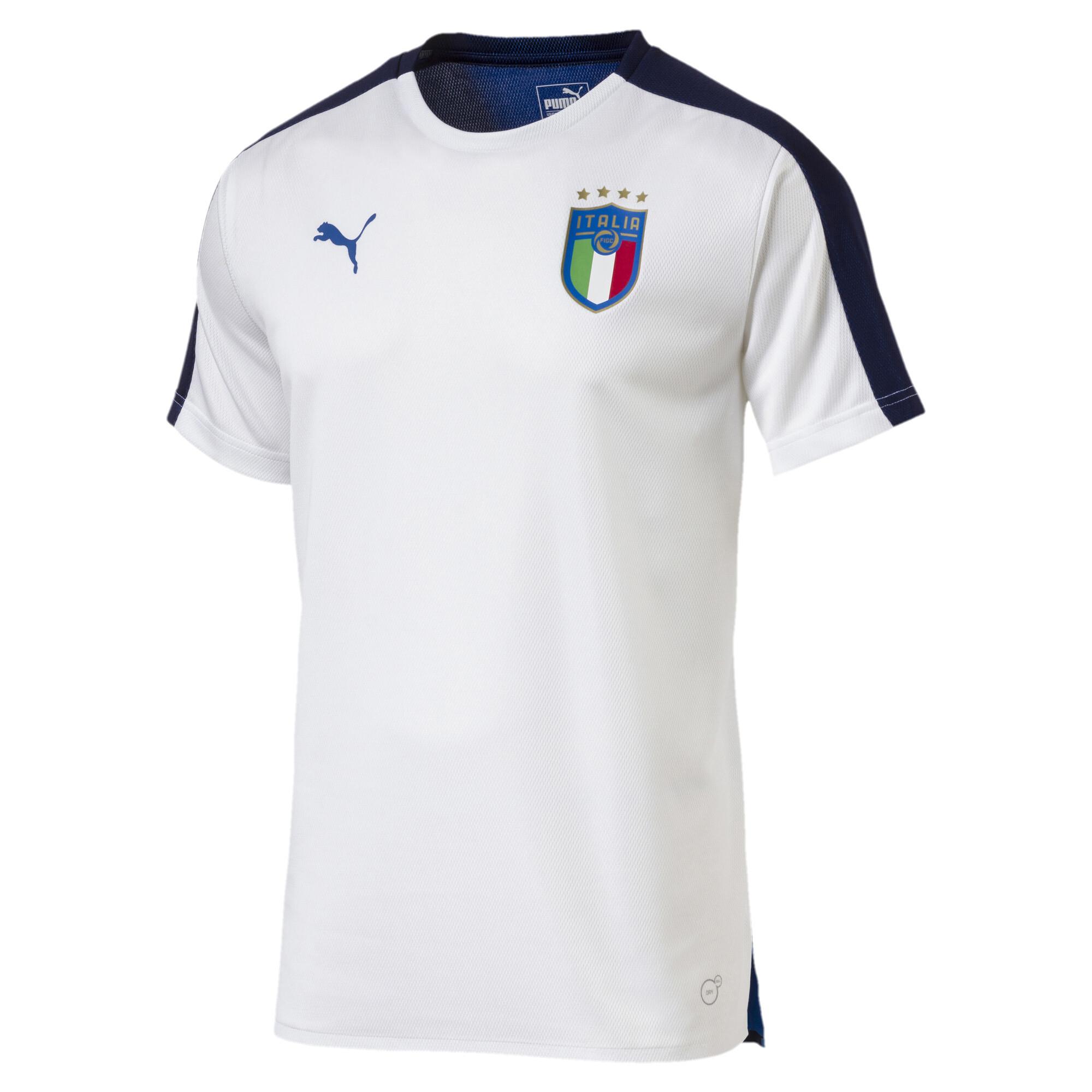 【プーマ公式通販】 プーマ FIGC ITALIA スタジアムジャージー SS メンズ Puma White-Team power blue |PUMA.com