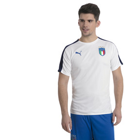 Thumbnail 2 of Italia Stadium Jersey, Puma White-Team power blue, medium