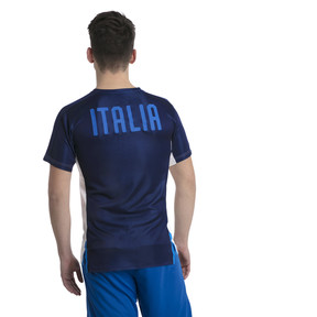 Thumbnail 3 of Italia Stadium Jersey, Puma White-Team power blue, medium