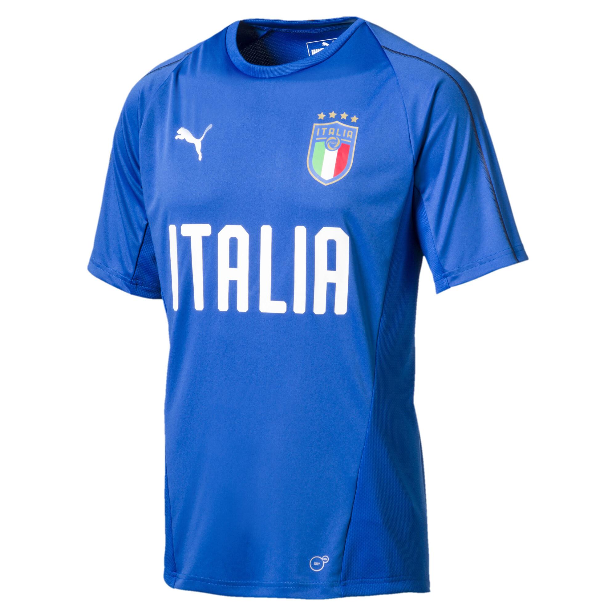 【プーマ公式通販】 プーマ FIGC ITALIA トレーニングジャージー SS メンズ Team Power Blue-Puma White |PUMA.com