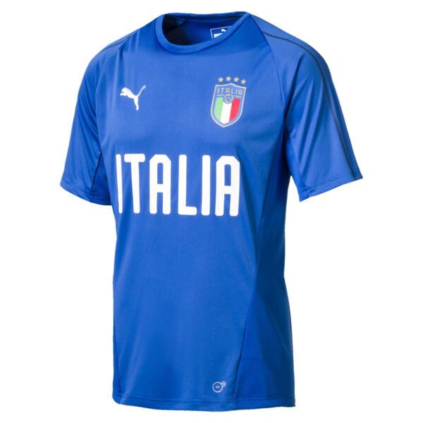 FIGC ITALIA トレーニングジャージー SS, Team Power Blue-Puma White, large-JPN