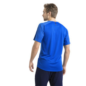 Thumbnail 3 of Italia Training Jersey, Team Power Blue-Puma White, medium