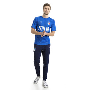 Thumbnail 5 of Italia Training Jersey, Team Power Blue-Puma White, medium