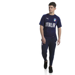 Thumbnail 5 of Italia Training Jersey, Peacoat-Team power blue, medium