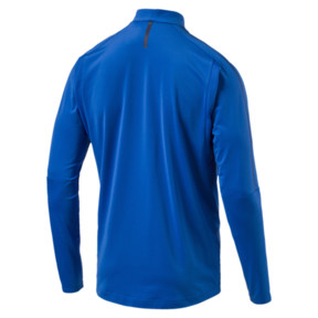Thumbnail 4 of Italia 1/4 Zip Training Top, Team Power Blue-White, medium