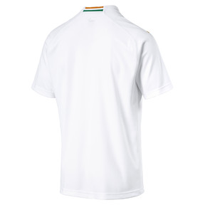 Thumbnail 5 of Ivory Coast Men's Away Replica Jersey, Puma White-Flame Orange, medium
