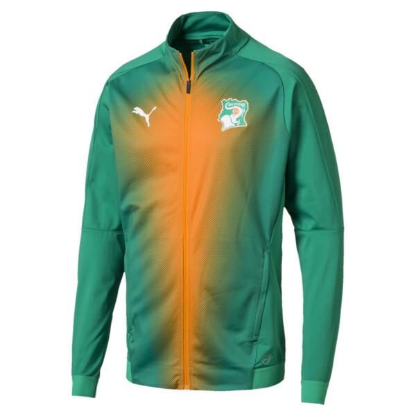 Ivory Coast Men's Stadium Jacket, pepper green-Pepper Green, large