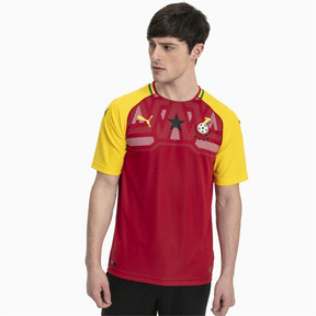 Thumbnail 1 of Ghana Home Replica Jersey, Chili Pepper-Dandelion, medium