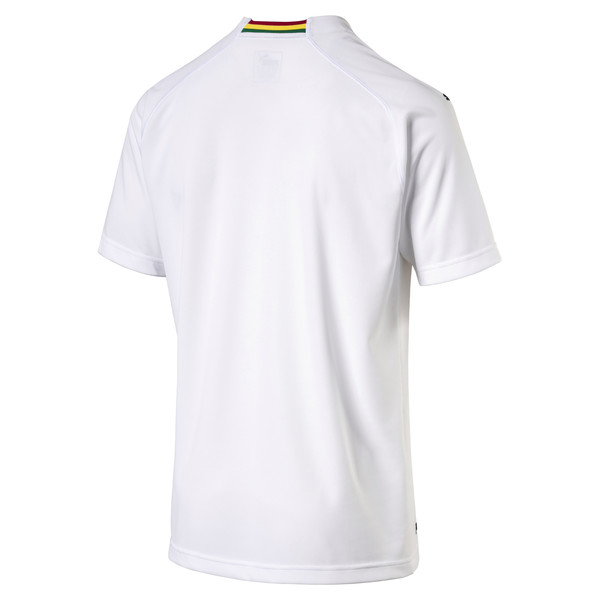 Ghana Men's Away Replica Jersey, Puma White, large
