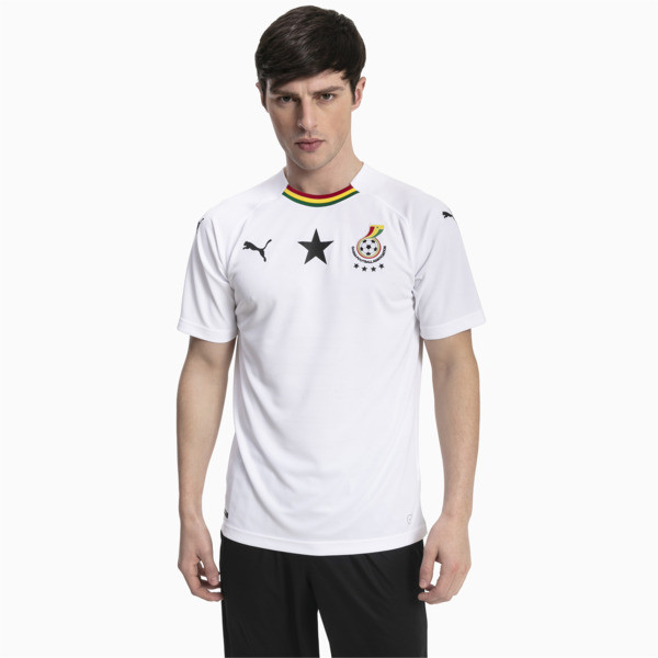 Ghana Men's Away Replica Jersey, , large