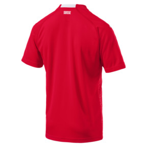 Thumbnail 5 of Switzerland Home Replica Jersey, Puma Red-Puma White, medium