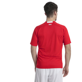 Thumbnail 2 of Switzerland Home Replica Jersey, Puma Red-Puma White, medium