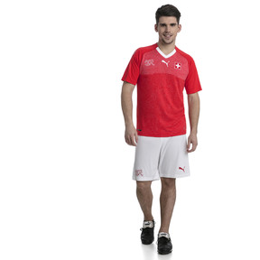 Thumbnail 3 of Switzerland Home Replica Jersey, Puma Red-Puma White, medium