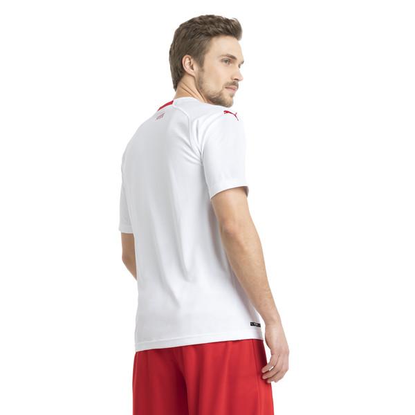 Schweiz Herren Replica Auswärtstriko, Puma White-Puma Red, large