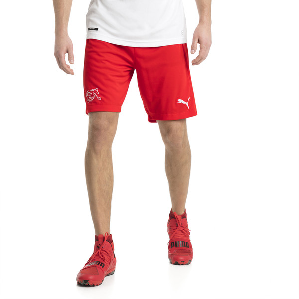 Short Replica Suisse, Puma Red, large