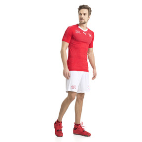 Thumbnail 4 of Short Replica Suisse, Puma White, medium