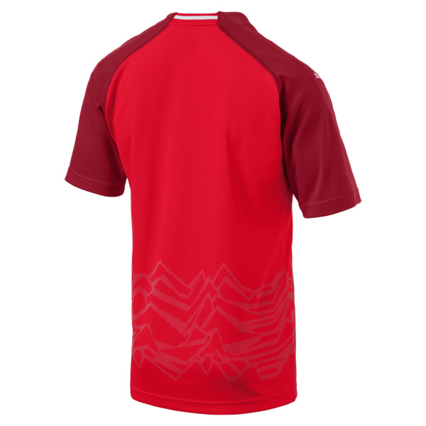 Maillot Domicile Replica de l'Autriche, Puma Red-Chili Pepper, large