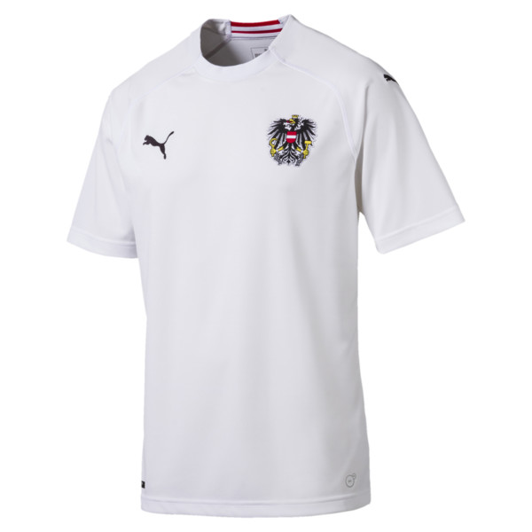 Austria Away Replica Shirt, Puma White, large