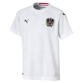 Camiseta deportiva de réplica de la segunda equipación de niño de Austria