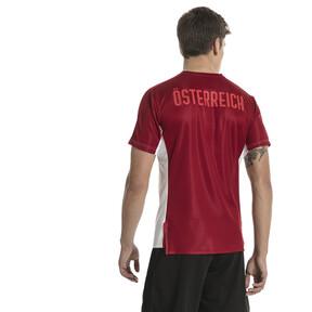 Thumbnail 3 of Austria Men's Stadium Jersey, Puma White-Red Dahlia, medium