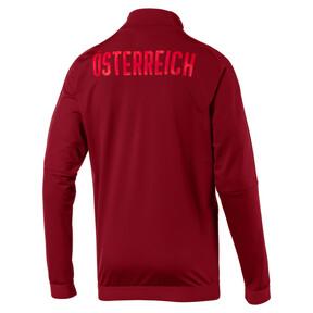 Thumbnail 4 of Austria Men's Stadium Jacket, Red Dahlia, medium