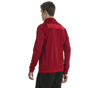 Thumbnail 3 of Blouson Stadium Autriche pour homme, Red Dahlia, medium