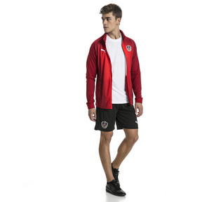 Thumbnail 5 of Blouson Stadium Autriche pour homme, Red Dahlia, medium