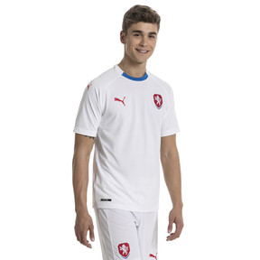 Thumbnail 1 of Czech Republic Men's Away Replica Jersey, Puma White-Puma Royal, medium