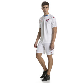 Thumbnail 4 of Czech Republic Men's Away Replica Jersey, Puma White-Puma Royal, medium