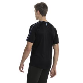 Imagen en miniatura 3 de Camiseta deportiva de training de hombre de Uruguay, Puma Black-Silver Lake Blue, mediana