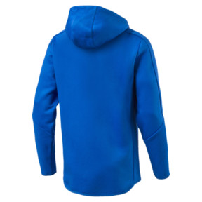Thumbnail 4 of FIGC Men's Zip-Thru Hoodie, Team Power Blue, medium