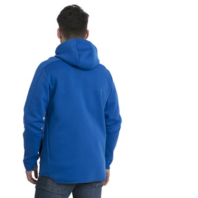 Thumbnail 3 of FIGC Men's Zip-Thru Hoodie, Team Power Blue, medium